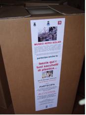 raccolta sacchetti a Carmignano